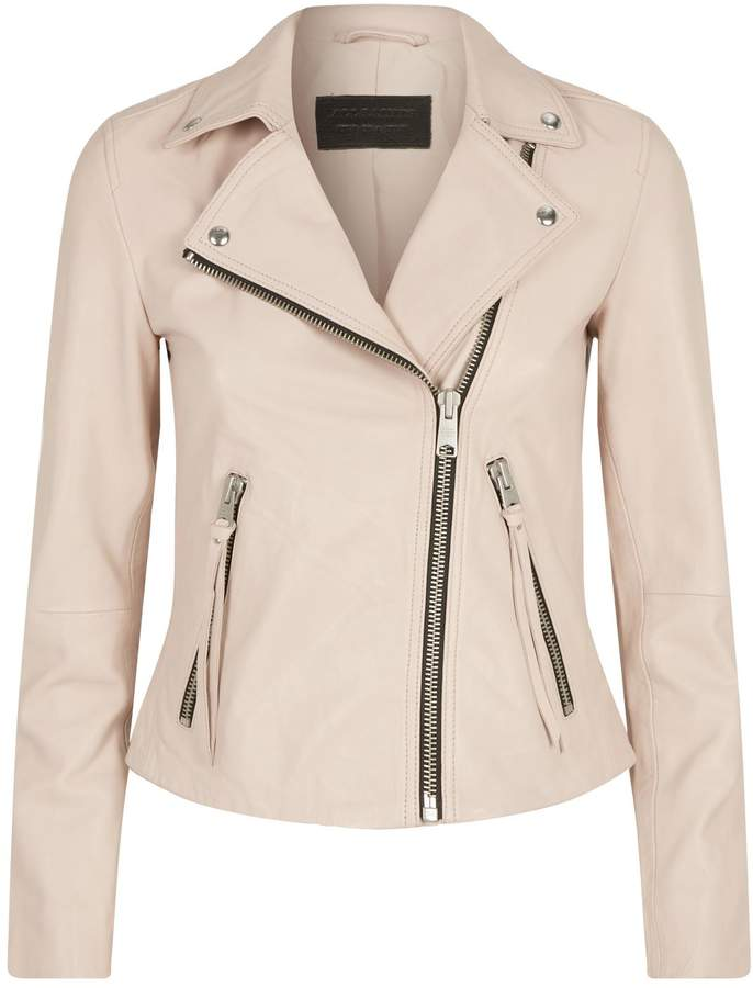Leather Dalby Biker Jacket by All Saints