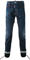 DSQUARED2 tapered jeans - men - Cotton/Polyester/Spandex/Elastane - 46
