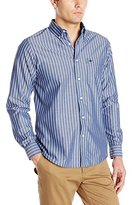 Dockers Long-Sleeve Pinstripe Button-Front Shirt