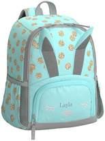 Pottery Barn Kids Small Backpack, Mackenzie Critter Aqua Glitter Bunny