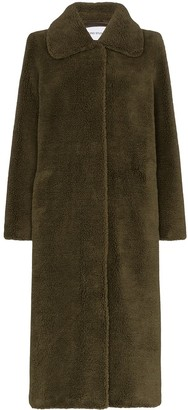 Stand Studio Gilberte teddy maxi coat
