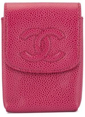 Chanel Pre Owned 2000-2002 CC Cigarette Case