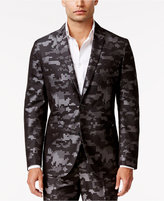 INC International Concepts Men's Slim-Fit Pixelated Camouflage Suit Jacket, Only at Macy's