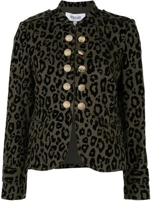 Derek Lam 10 Crosby Leopard Print Jacket
