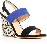 Giuseppe Zanotti Kloe Strappy Slingback Wedge Sandals