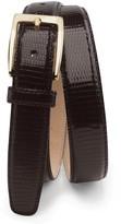 Brooks Brothers Genuine Lizard Belt