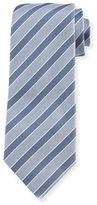 Isaia Rep-Striped Silk Tie