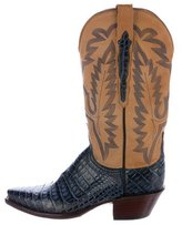 Lucchese Alligator Cowboy Boots