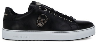 Philipp Plein Skull Pin Low-Top Sneakers