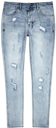 Ksubi Van Winkle distressed skinny jeans