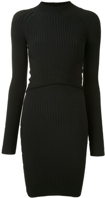 Dion Lee Twist-Style Cutout Mini Dress