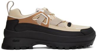 Stella McCartney Beige Faux-Suede Trail Hiking Sneakers