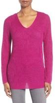 Eileen Fisher Women's V-Neck Organic Linen Sweater