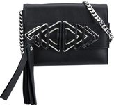 Elena Ghisellini mini 'Nina Triangle' clutch - women - Calf Leather - One Size
