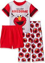 Sesame Street Toddler Boys' Elmo 3-Piece Pajama Set