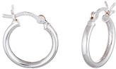 Bliss Sterling Silver Hoop Earrings