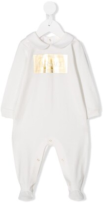 Versace Metallic Logo Pyjamas