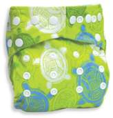 Bumkins Snap-In-One Cloth Diaper in Turtle