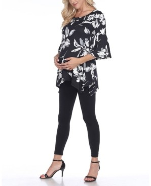 Roche White Mark Maternity Tunic Top
