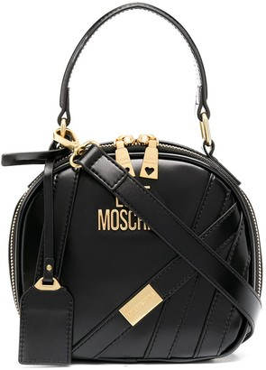 Love Moschino Top-Handle Oval Bag