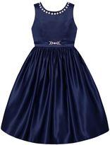 Girls 7-16 & Plus Size American Princess Rhinestone Neckline Dress