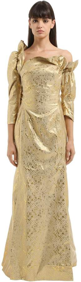 Vivienne Westwood Moon Asymmetrical Jacquard Dress