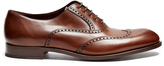 Fratelli Rossetti Liverpool leather oxford shoes