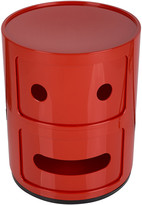 Kartell Componibili Smile Storage Unit - Red - :