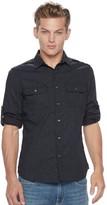 Rock & Republic Men's Disruptive Stretch Button-Down Shirt