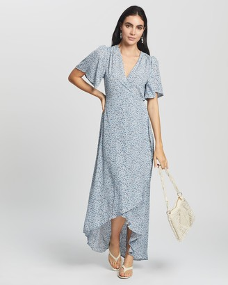 Missguided High Low Midi Dress