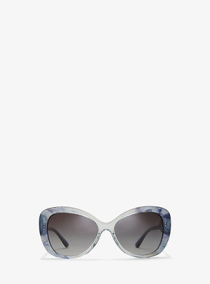 Michael Kors Positano Sunglasses - Black