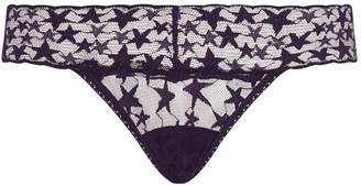 Hanky Panky Star Lace Low-Rise Thong