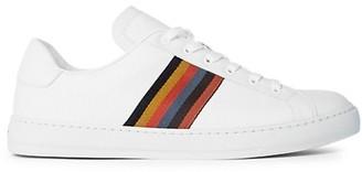 Paul Smith Hansen Stripe Trim Leather Sneakers
