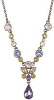 Givenchy Crystal Marquis & Teardrop Pendant Y-Necklace