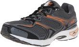 Avia Men's Endeavour Trail Running Shoe, Steel Grey/Black/Rhythm Orange