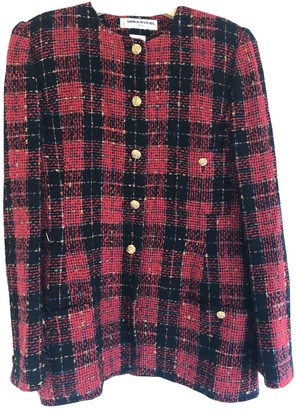 Sonia Rykiel Red Tweed Jacket for Women Vintage