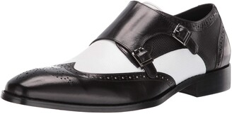 Stacy Adams Men's LaVine Wingtip Double Monk Strap Loafer