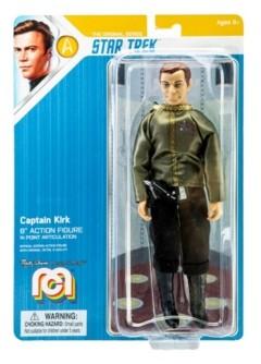 "Mego Action Figures Mego Action Figure 8"" Star Trek - Kirk - Dress Uniform Limited Edition Collector's Item"