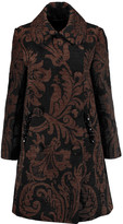 Simone Rocha Embellished chenille coat