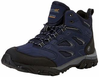 Regatta Men's Holcombe IEP Mid High Rise Hiking Boots Blue (Navy/Granite 1l6) 9.5 UK (44 EU)