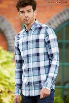 Tommy Hilfiger Blue Oldport Check Shirt - Blue