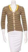 Prada Wool Embellished Cardigan