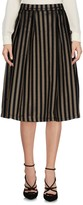 Gaudi' Knee length skirts - Item 35335842