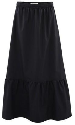 Atlantique Ascoli Long skirt in cotton