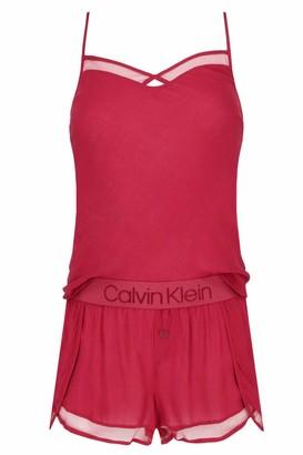 Calvin Klein Women's Cami/Short Sleep Set Pyjama