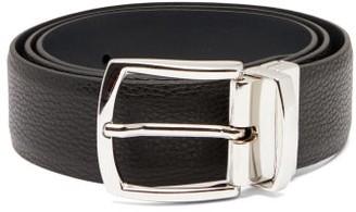 Andersons Reversible Leather Belt - Black Navy