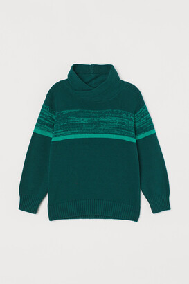 H&M Chimney-collar Sweater