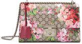 Gucci Padlock Blooms Shoulder Bag, Multi Rose