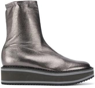 Clergerie Berta metallic boots