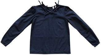 Sonia Rykiel Sonia By Navy Cotton Top for Women